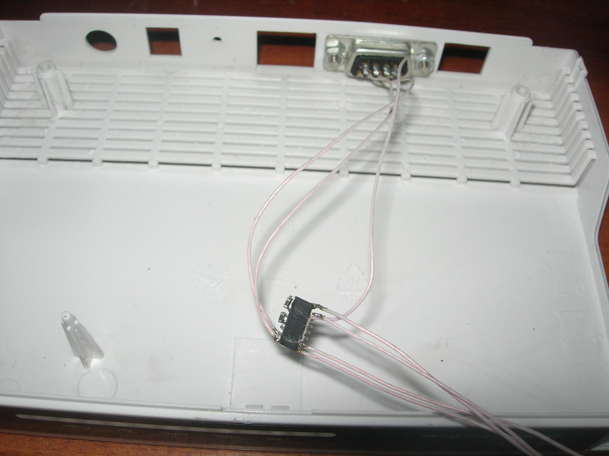 схема нульмодемного кабеля для openbox